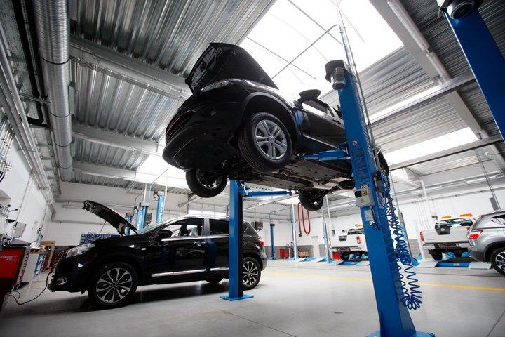 Stacja kontroli pojazdów, naprawy pojazdów mechanicznych